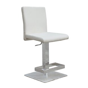 Witton Adjustable Height Bar Stool Orren Ellis