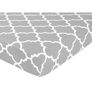 Compare Trellis Fitted Crib Sheet BySweet Jojo Designs