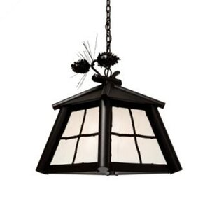 Saranac 1-Light Outdoor Hanging Lantern