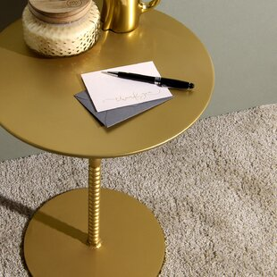 Delisle Pedestal End Table