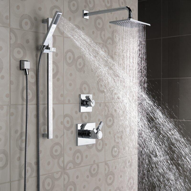 Delta Vero Full Slide Bar Shower Head & Reviews | Wayfair