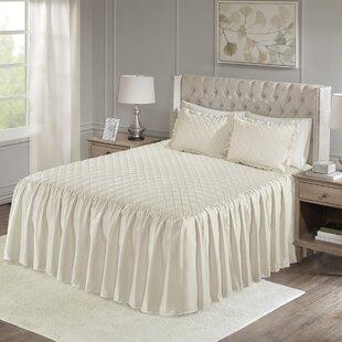 Kraker Faux Velvet Reversible 3 Piece Bedspread Set