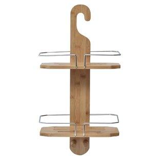 Evideco Bamboo Shower Caddy