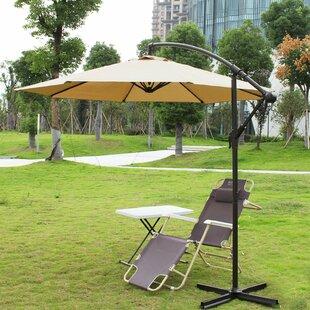 Adeco Trading 10' Cantilever Umbrella