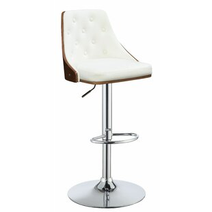 Bromyard Adjustable Height Bar Swivel Stool Corrigan Studio
