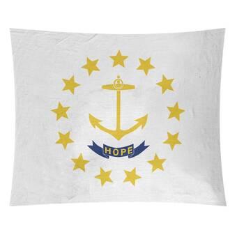 Winston Porter Enrik New York Flag Tapestry Wayfair