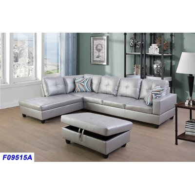 Pleasing Russ Sectional With Ottoman Andover Mills Orientation Left Alphanode Cool Chair Designs And Ideas Alphanodeonline
