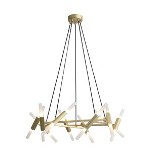 Brayden Studio Harris 20-Light LED Sputnik Chandelier