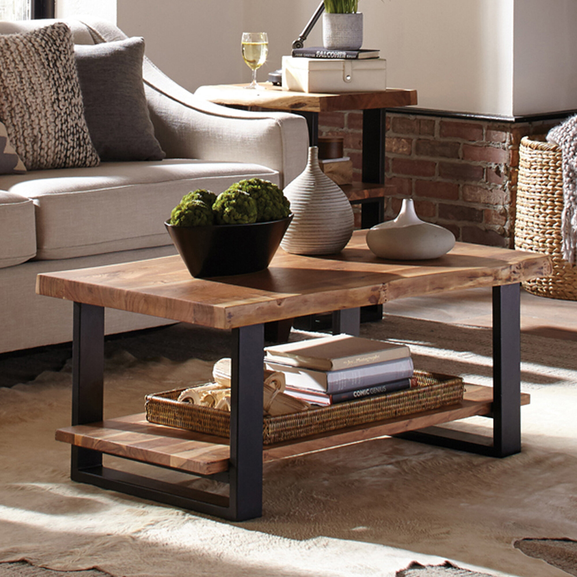 Live Edge Coffee Tables Free Shipping Over 35 Wayfair