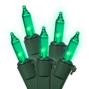 mini christmas 100 light green indooroutdoor string light