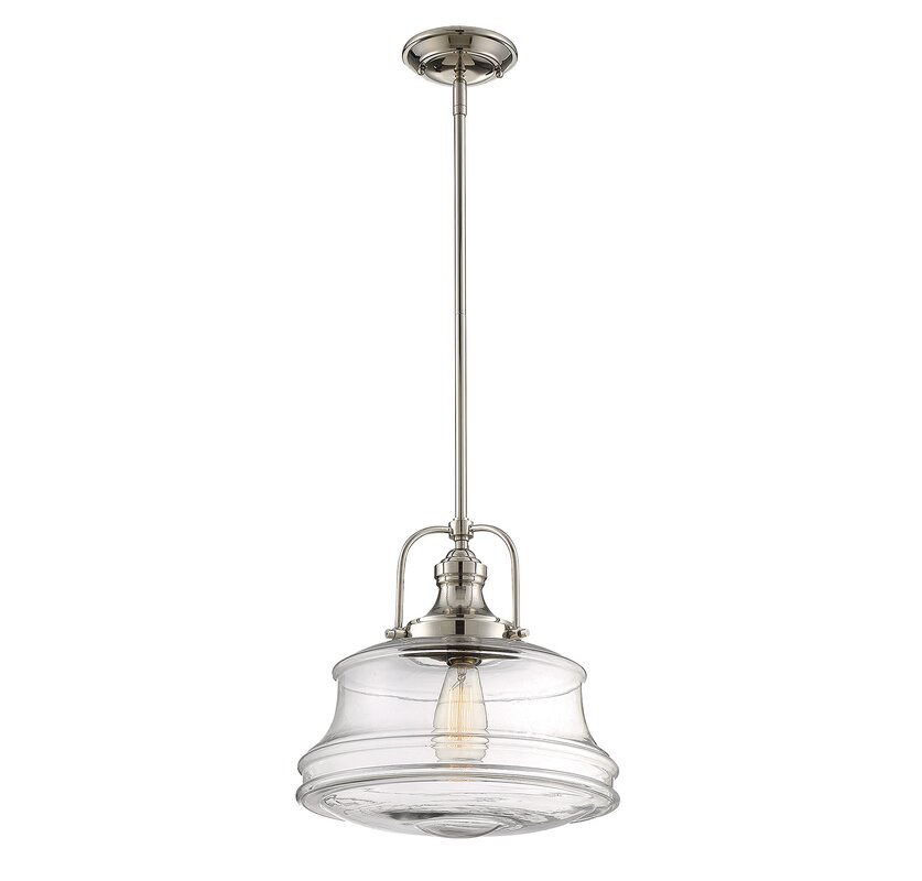 Pratt 1 light schoolhouse pendant reviews joss main pratt 1 light schoolhouse pendant aloadofball Image collections