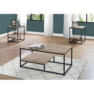Zipcode Design Tavon 3 Piece Coffee Table Set