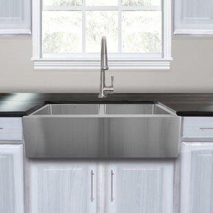 Nantucket Sinks Pro Series Stainless Steel 33