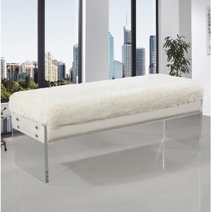 Everly Quinn Roberts Upholstered Bench