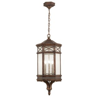 Affordable Holland Park 3-Light Outdoor Hanging Lantern By Fine Art Lamps