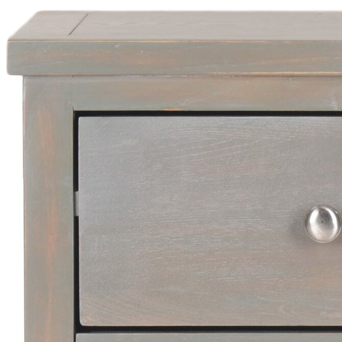 Highland Dunes Joanna Solid Wood 3 Drawer End Table Reviews Wayfair