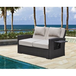 Betts Outdoor Loveseat with Cushions by Latitude Run