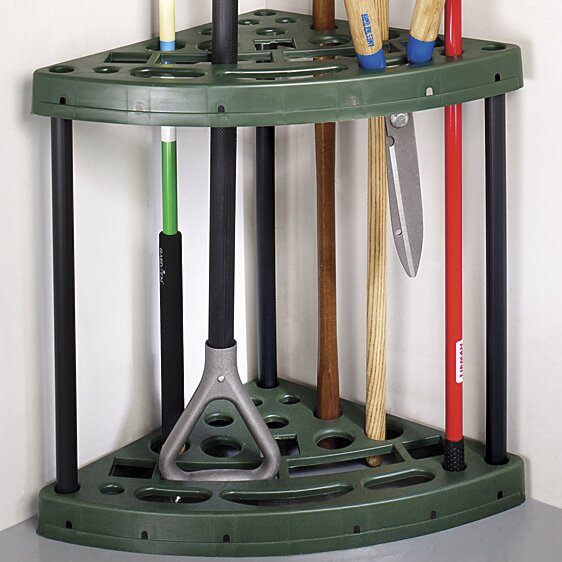 Miles Kimball Corner Garden Tool Rack | Wayfair