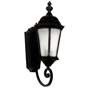 Compare prices Brielle 1-Light Outdoor Sconce By Yosemite Home Decor