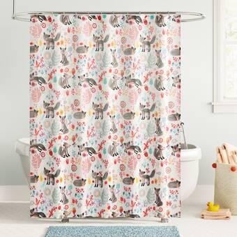 Ophelia Co Coupland Vintage Rose Single Shower Curtain Wayfair