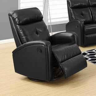 Manual Swivel Recliner by Monarch Specialties Inc.