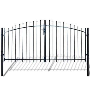 10' X 6' Crampton Metal Gate By Sol 72 Outdoor