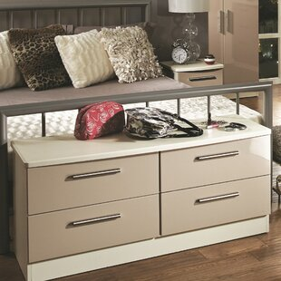Yvette 4 Drawer Chest By 17 Stories
