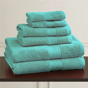 W Home 5 Piece Rayon from Bamboo Hand Towel Set (Set of 5)