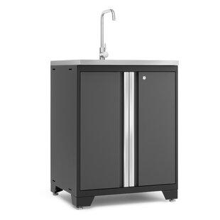 Pro 3.0 28 Single Bathroom Vanity Set Cabinet ByNewAge Products