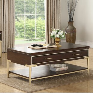 Best Price Laufer Coffee Table with Storage By Everly Quinn