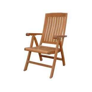 Katana Folding Teak Patio Dining Chair