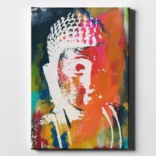 Buddha Canvas Picture Wayfair
