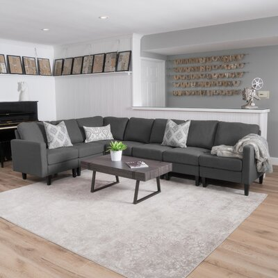 Grey L Shaped Sectionals You Ll Love In 2019 Wayfair
