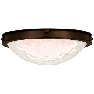 Kalco Newport 2-Light Flush Mount