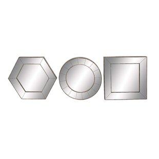Cole & Grey 3 Piece Mirror Set