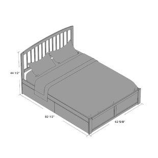 Red Barrel Studio Wrington Storage Platform Bed