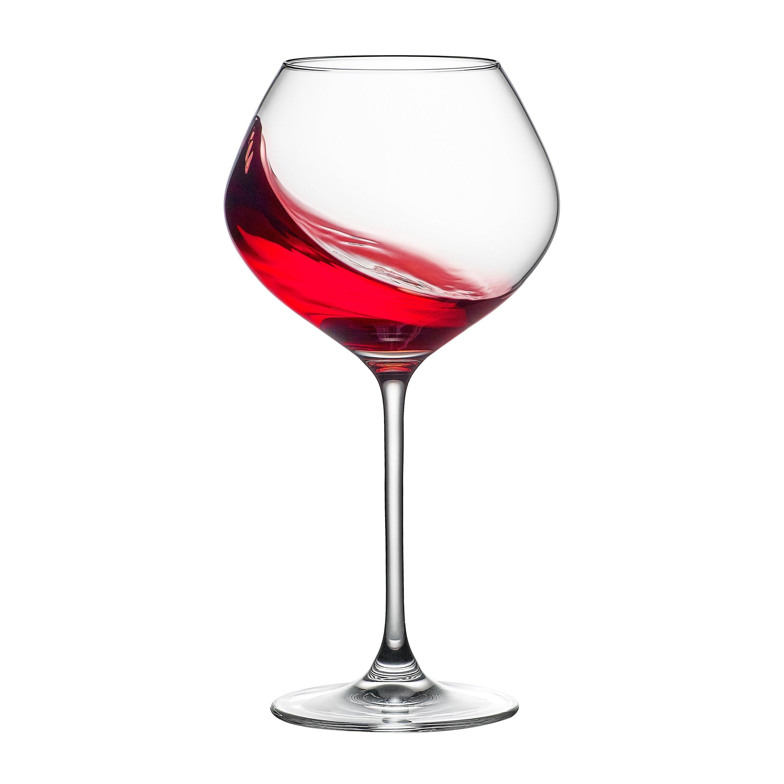Rona Celebration 76 Burgundy 26 Oz Crystal Red Wine Glass Wayfair