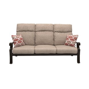 Alcott Hill Jacobi Patio Sofa with Cushions
