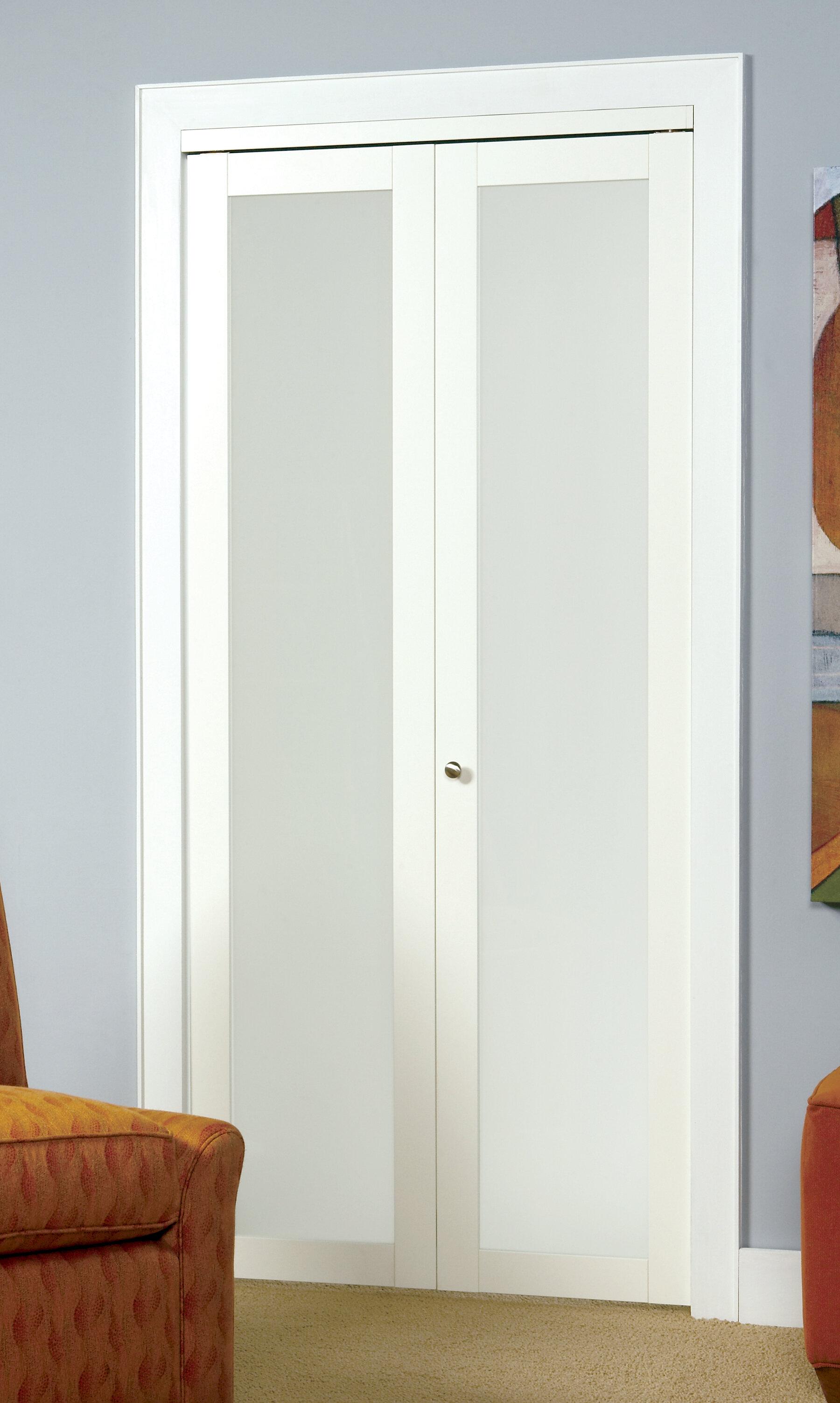 Renin Baldarassario Glass Bi Fold Door Reviews Wayfair
