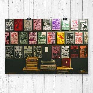 Vinyl Records  Graphic Art & Vinyl Record Storage Unit | Wayfair.co.uk