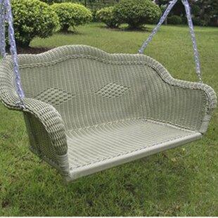 Soucy Wicker Porch Swing