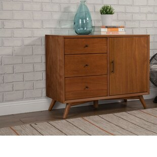 Hinsdale Wood 3 Drawer Accent Cabinet by George Oliver
