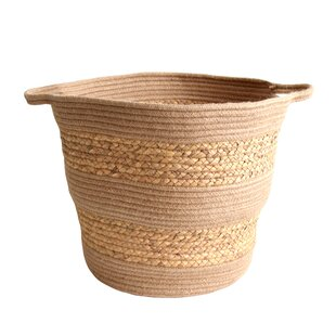 Handwoven Natural Wicker Basket