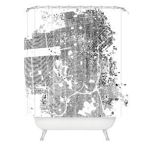 CityFabric Inc San Francisco Single Shower Curtain