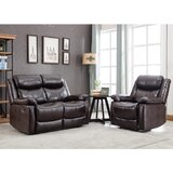 2 Piece Reclining Living Room Set by Red Barrel Studio®