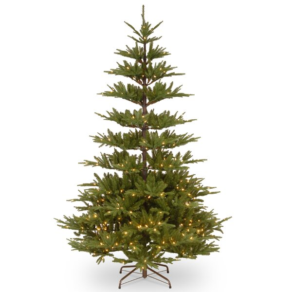 National Tree Co. Glenwood 7.5' Green Fir Artificial Christmas ...