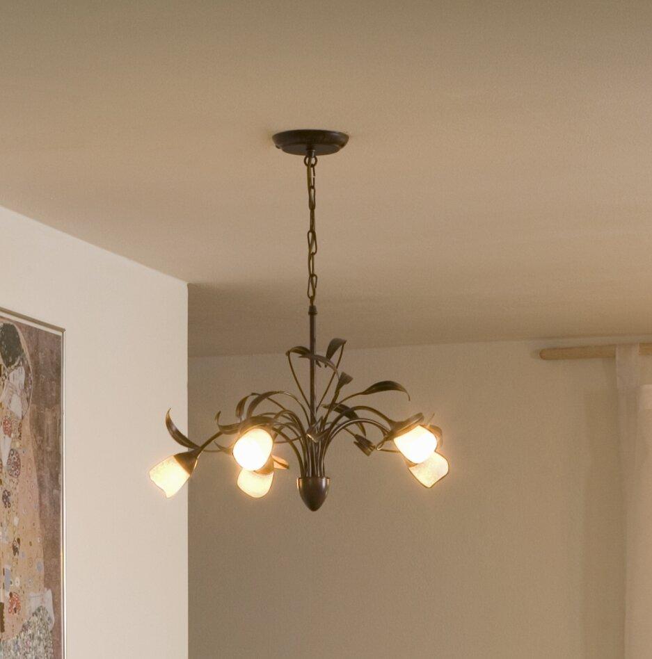 Brilliant yasmin branched chandelier reviews wayfair aloadofball Images