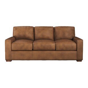 Shop Blanca Leather Sofa Bed by Westland and Birch