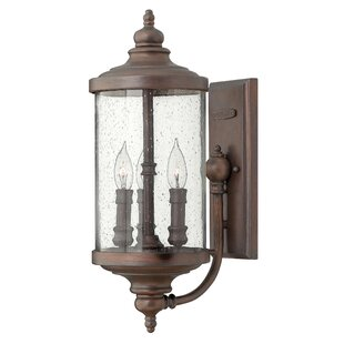 Fleur De Lis Living Clouden 3-Light Outdoor Sconce
