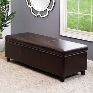 Fordbridge Brown Storage Ottoman